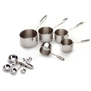 All-Clad Measuring Cups and Spoons